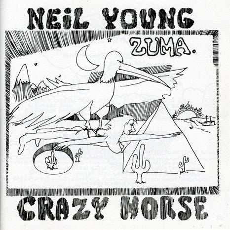 Neil Young & Crazy Horse | Zuma | Vinyl LP - 2016 Reissue