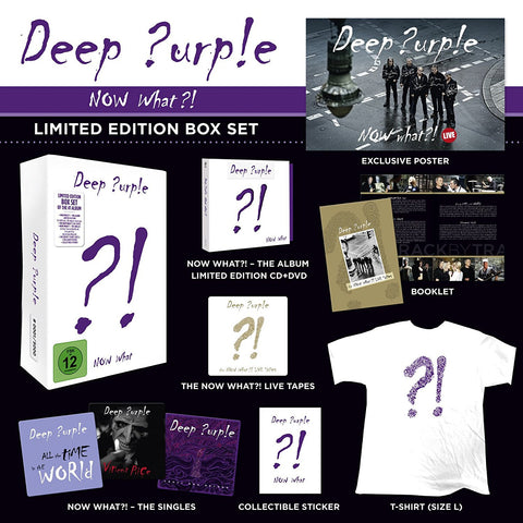 Deep Purple | Now What? Limited Edition | Box Set
