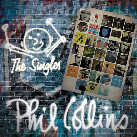Phil Collins | The Singles | 4 LP Vinyl Box Set