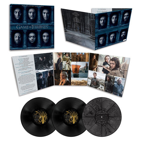Ramin Djawadi | Game Of Thrones: Season 6 Official Soundtrack | Limited Edition Vinyl 3LP