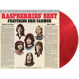 Raspberries featuring Eric Carmen | Raspberries' Best | Limited Edition Red Colored Vinyl LP