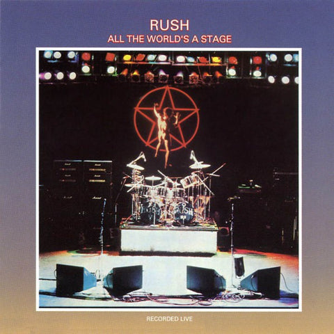 Rush | All the World's a Stage | 2LP 180g Vinyl