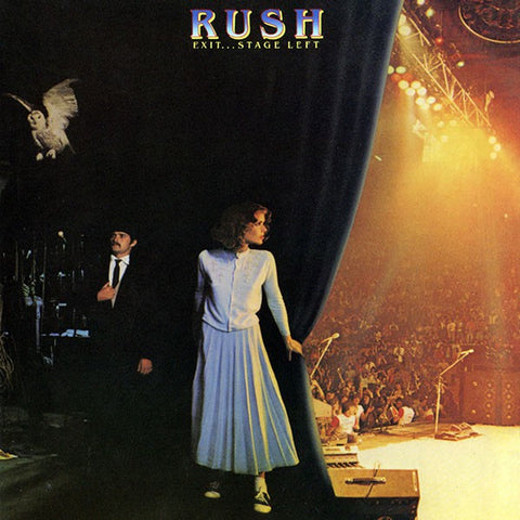 Rush | Exit...Stage Left | 2LP 180g Vinyl
