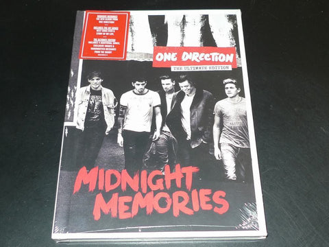 One Direction | Midnight Memories | The Ultimate Edition (Book + CD)