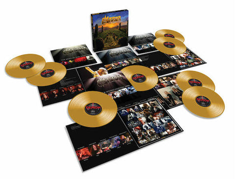 Saxon | The Vinyl Hoard | Limited Edition 8LP Gold 180g Vinyl Box Set