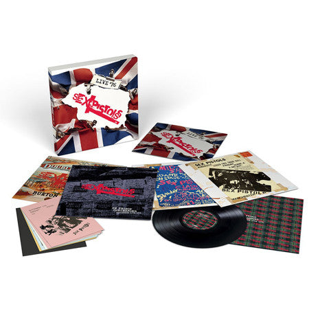 Sex Pistols | Live '76 | 4 LP Vinyl Box Set