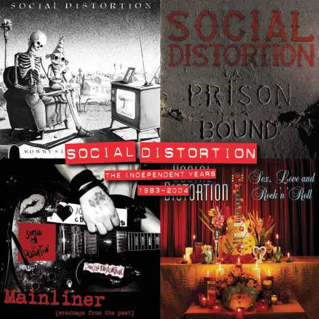 Social Distortion | Independent Years: 1983-2004 | Colored Vinyl 4 LP Box Set