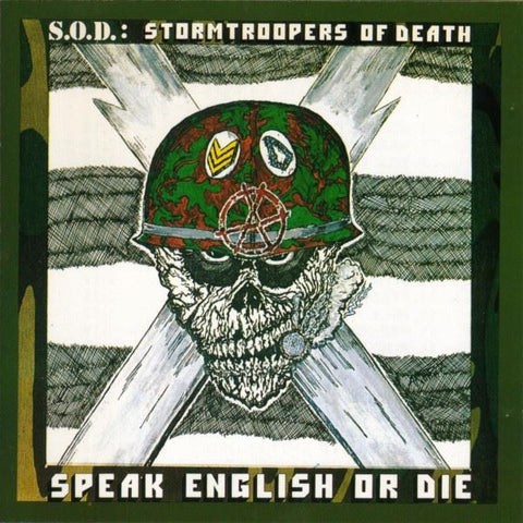 Stormtroopers of Death | Speak English or Die | 30th Anniversary Edition Vinyl 2LP