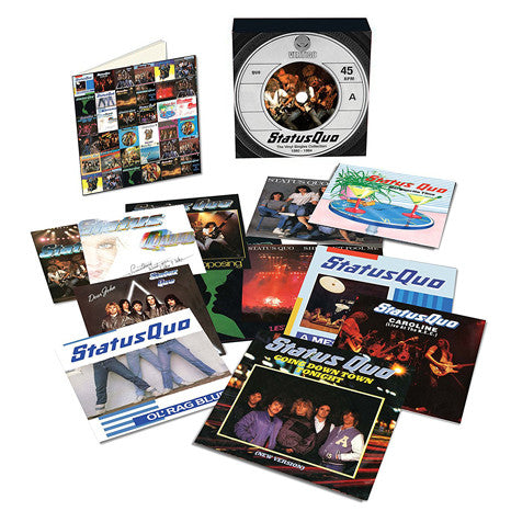 "Status Quo | The Singles Collection: 1980-1984 | Limited Edition 7"" Singles Vinyl Box Set"