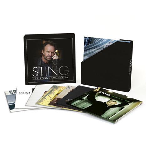 Sting | The Studio Collection | 180g 11LP Vinyl Box Set