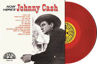 Johnny Cash | Now Here's Johnny Cash | 180g Vinyl LP (Limited Edition; Color Vinyl)