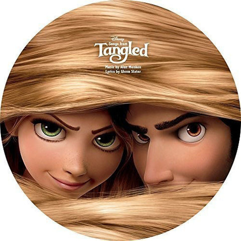 Disney | Songs from Tangled | Vinyl LP Picture Disc