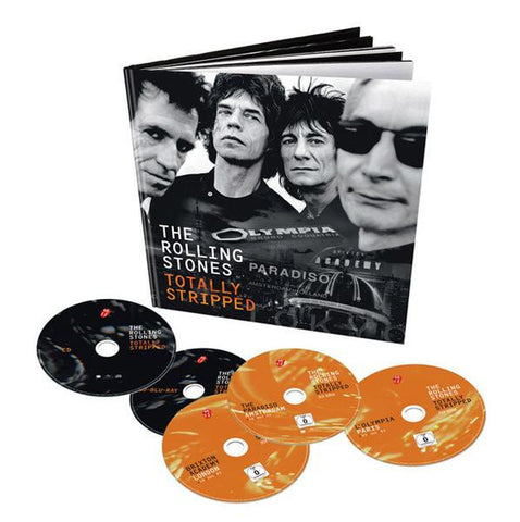 Rolling Stones | Totally Stripped Deluxe | CD + 4 DVD