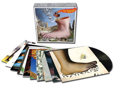"Monty Python | Monty Python's Total Rubbish! The Complete Collection | 9xLP + 7"" Box Set"