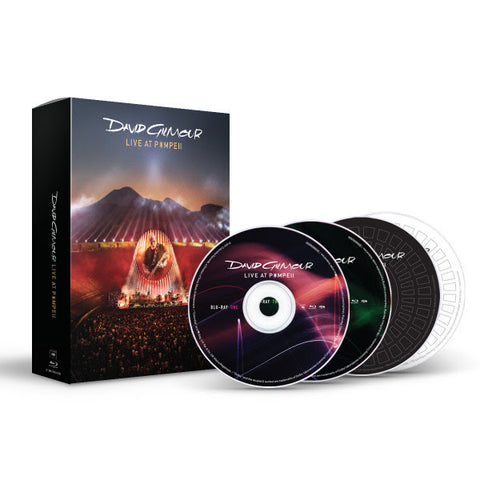 David Gilmour | Live at Pompeii | Blu-ray Casebook