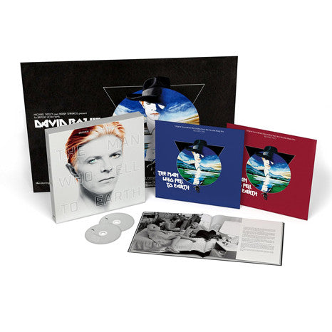 David Bowie | The Man Who Fell To Earth | Deluxe Edition Vinyl / CD Box Setxt