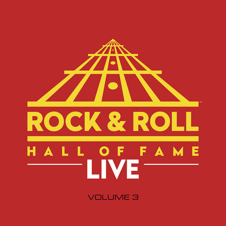 Various Artists | The Rock and Roll Hall of Fame Live: Volume 3 | Limited Edition 180g Colored Vinyl LP