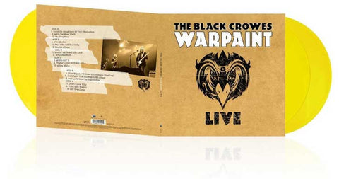 The Black Crowes | Warpaint Live | Color Vinyl 3xLP