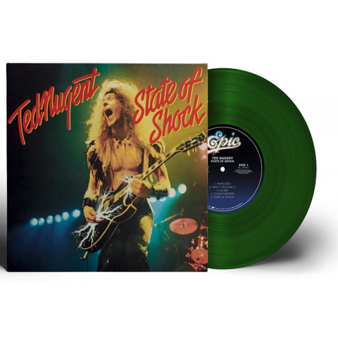 Ted Nugent | State of Shock | Limited Edition Forest Green Vinyl LP