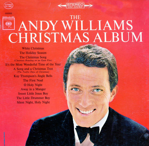 Andy Williams | The Andy Williams Christmas Album | Limited Edition Translucent Red 180g Vinyl LP