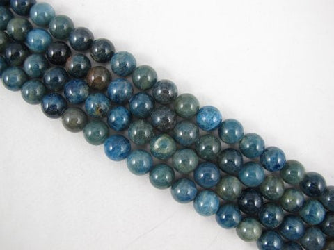 Kyanite Beads Natural Gemstone B Grade Dark Blue 12mm Round 35pcs 15.5""