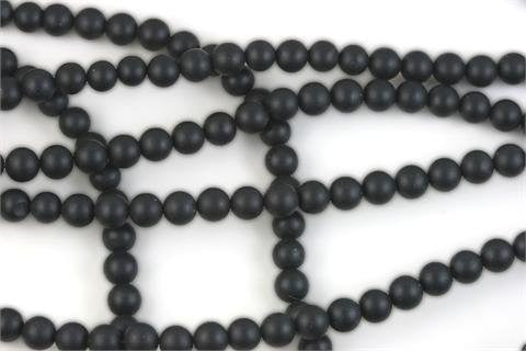 Black Onyx Beads Matte Finish Round 6mm (3031)