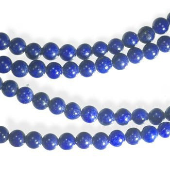 Lapis Lazuli Round Bead Strand Genuine Natural Tiny 3mm 15""