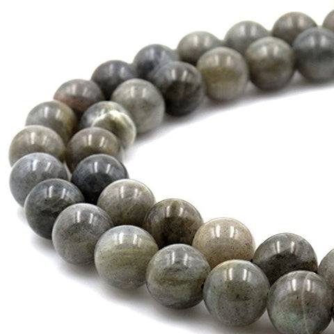 BRCbeads Gorgeous Natural Labradorite Gemstone Round Loose Beads 12mm Approxi 15.5 inch 30pcs 1 Strand per Bag for Jewelry Making