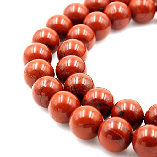 5 Piece Natural Red jasper Handmade Carved European Bracelet Fit Charms Beads 15x8mm 5mm Hole