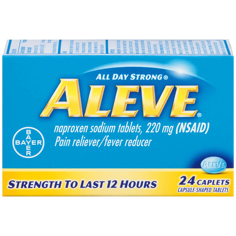 ALEVE 220MG Pain Relievers 24'S