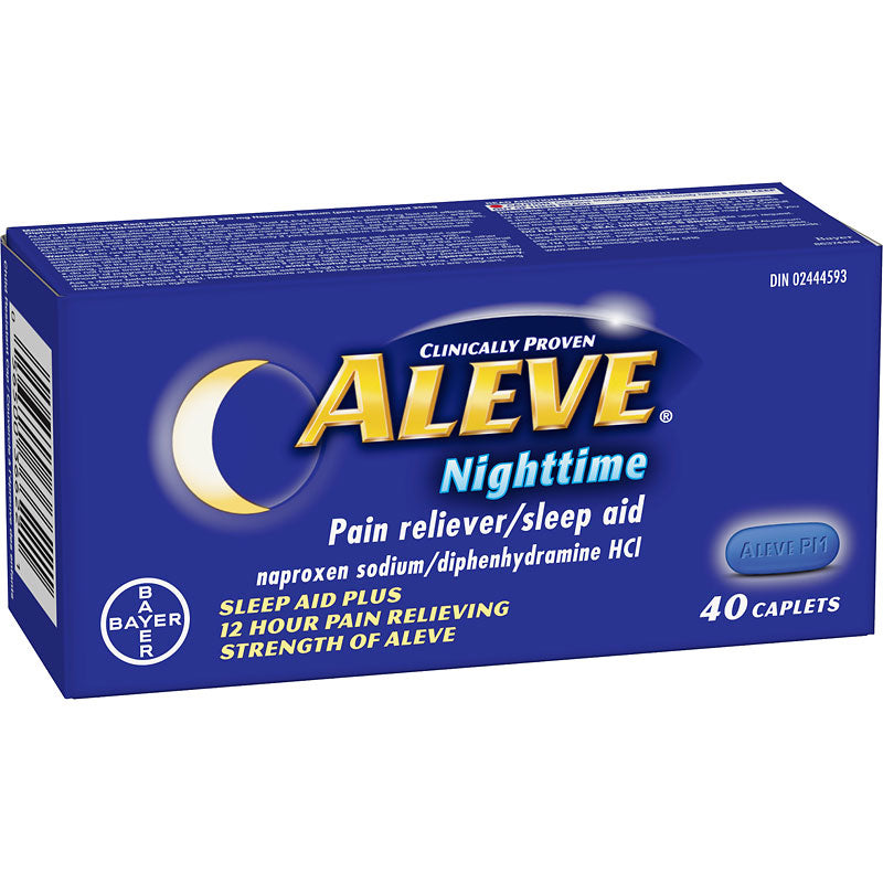 Aleve Nighttime 40 capsules