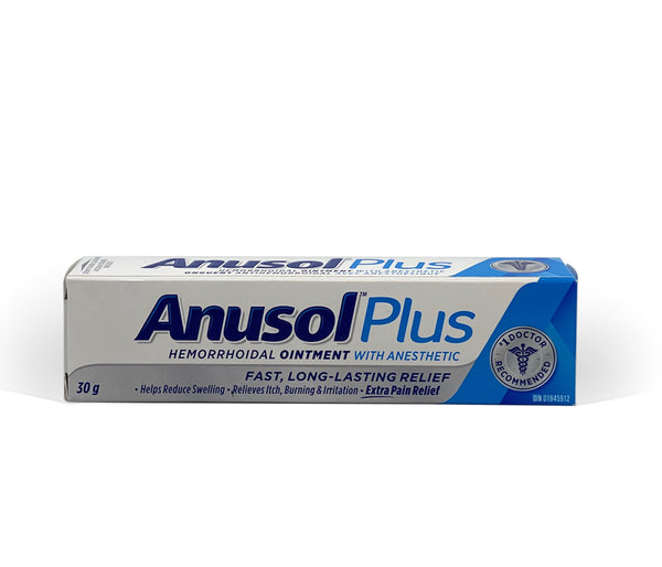 Anusol Plus Ointment with Anesthetic (30g)