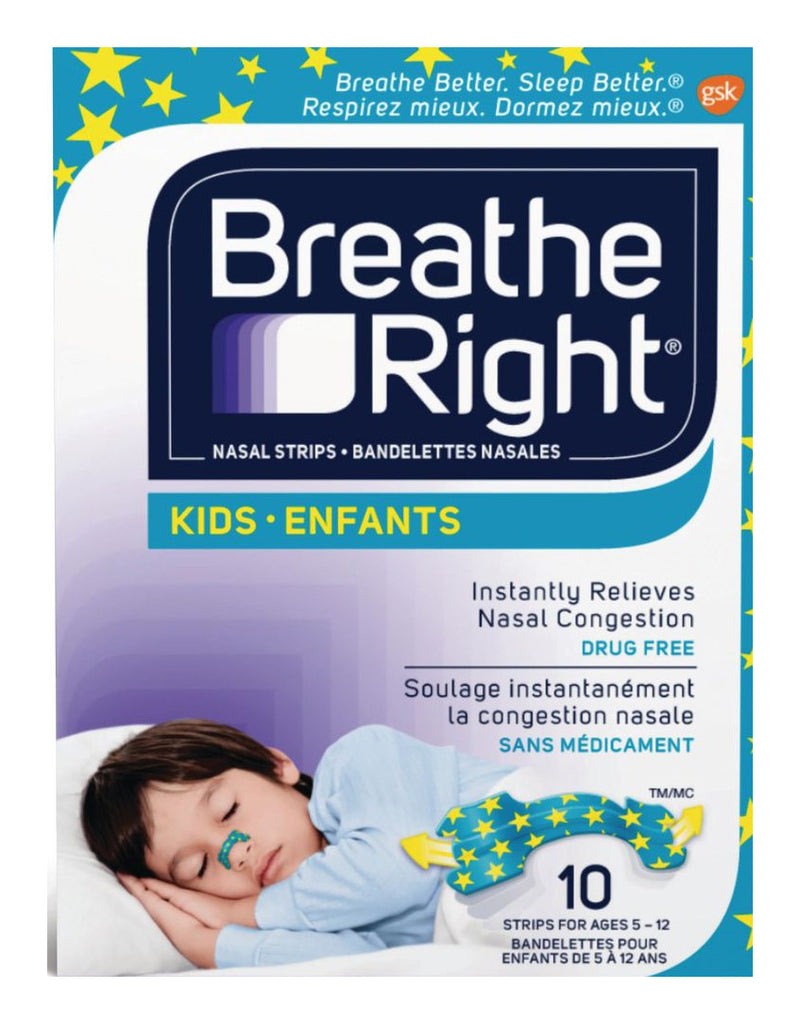 Breathe Right Strips Kids  (10 Strips)