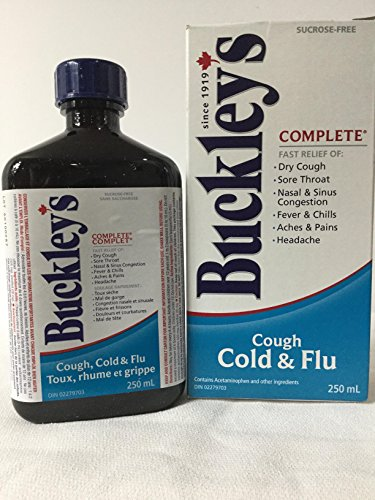Buckley's Complete Cough Cold & Flu 250mL (8.5oz)