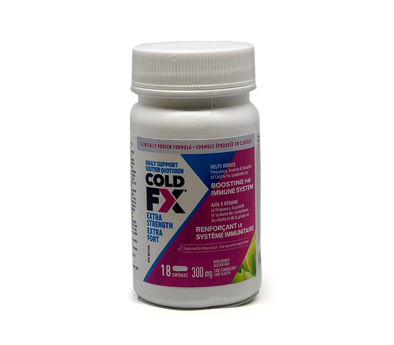 Cold Fx Extra Strength 300mg 18 capsules