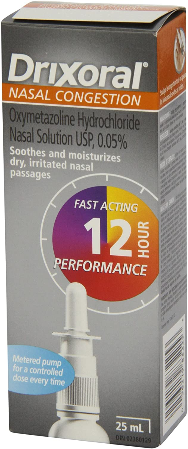 Drixoral Nasal Congestion Spray 25ml