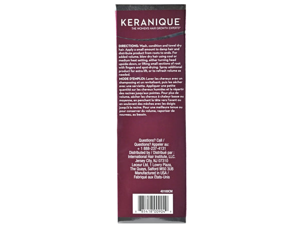 Keranique Lift & Repair Treatment Spray