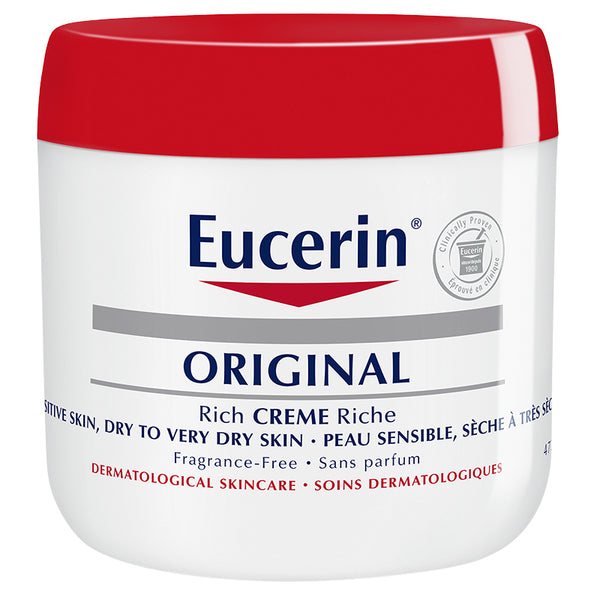 Eucerin Original Cream Fragrance Free 473ML