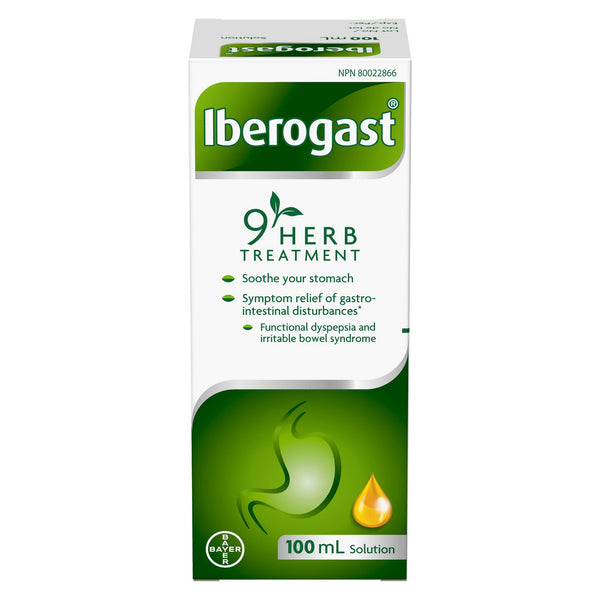 Iberogast Stomach Relief 100ml (3.38oz)