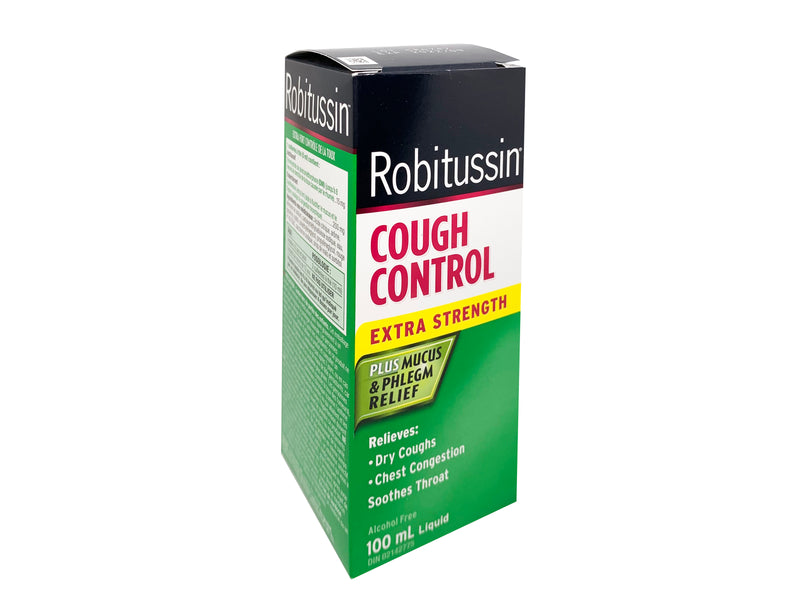 Robitussin Cough Control Extra Strength 100mL