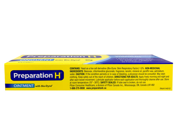Preparation H with Biodyne Ointment 50g (1.76 oz)