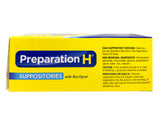 Preparation H Suppositories (With Biodyne) 48 Pack