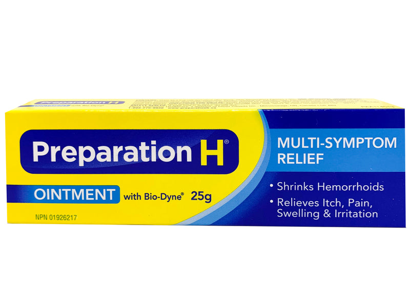 Preparation H with Biodyne Ointment 25g (0.88 oz)