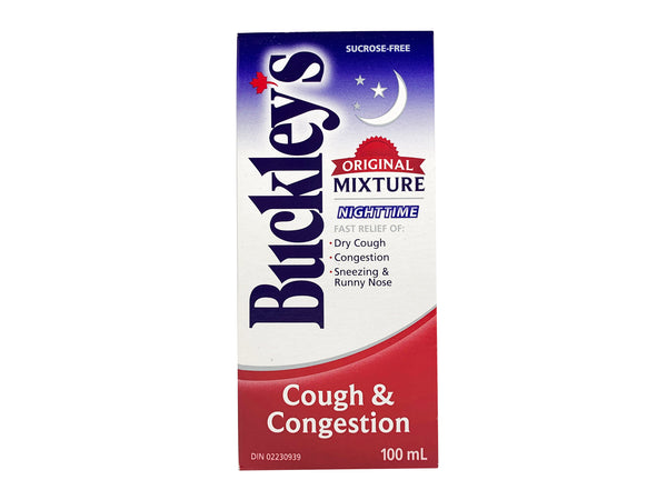 Buckley's Original  Nighttime Mixture 100mL (3.4oz)