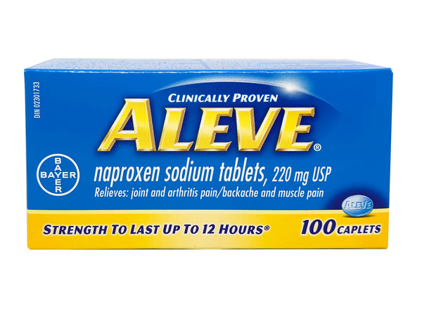 ALEVE 220MG Pain Relievers 100'S