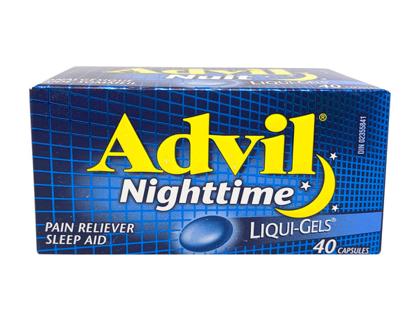 ADVIL Nighttime Liqui-Gels 40'S