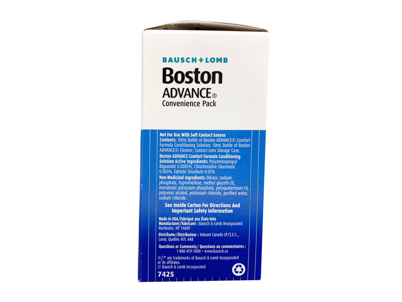 Bausch and Lomb Boston Advance Convenience Pack