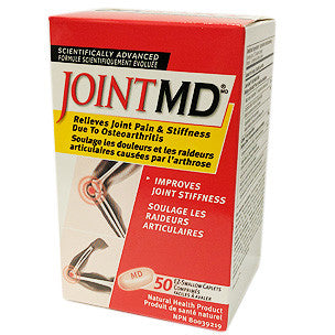 Joint MD Joint Pain and Stiffness Relief 50 EZ-Swallow Caplets - canoutlet.com