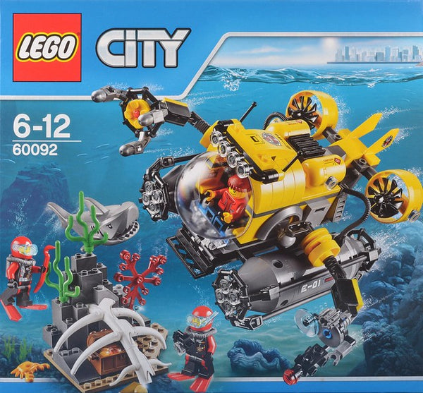 Lego 60092 City Deep Sea Submarine