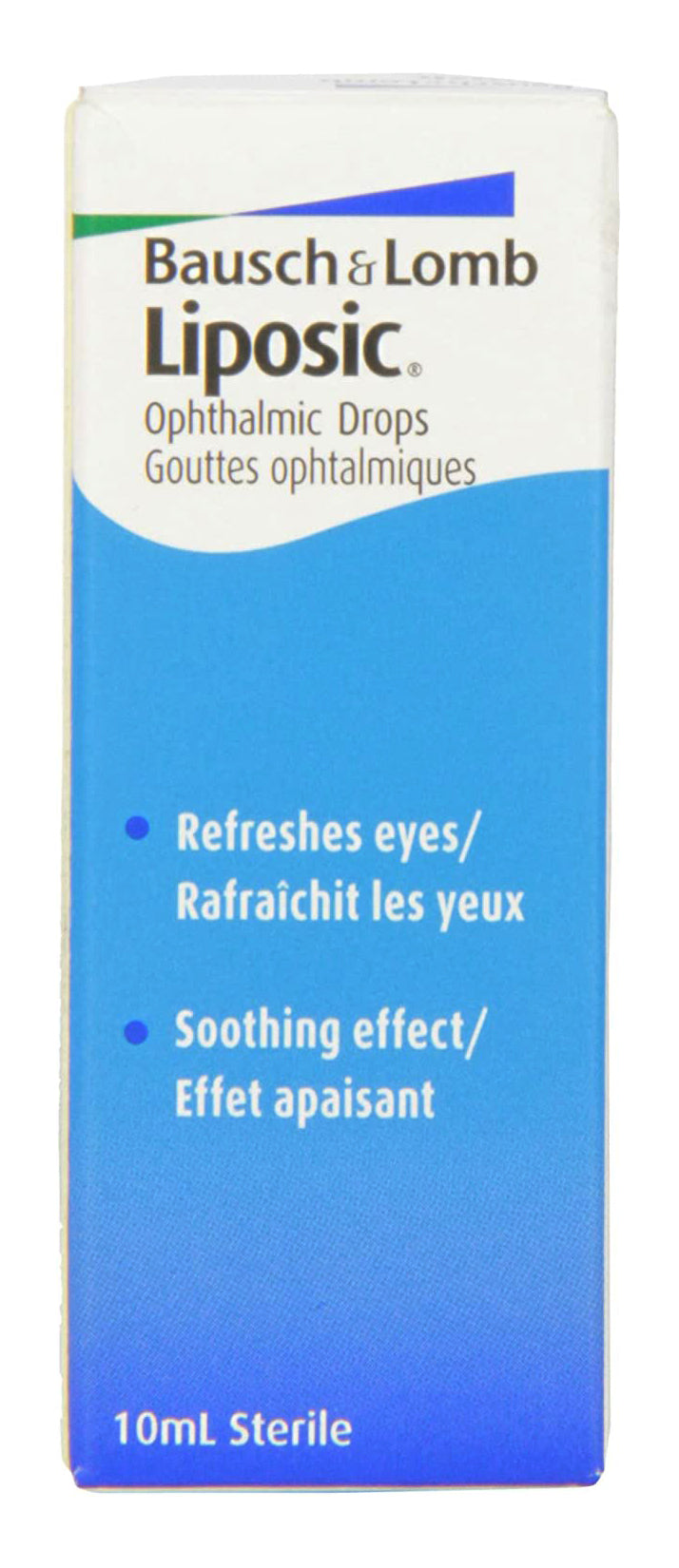 Liposic Bausch & Lomb Ophthalmic Eye Drops 10ml (.34oz)